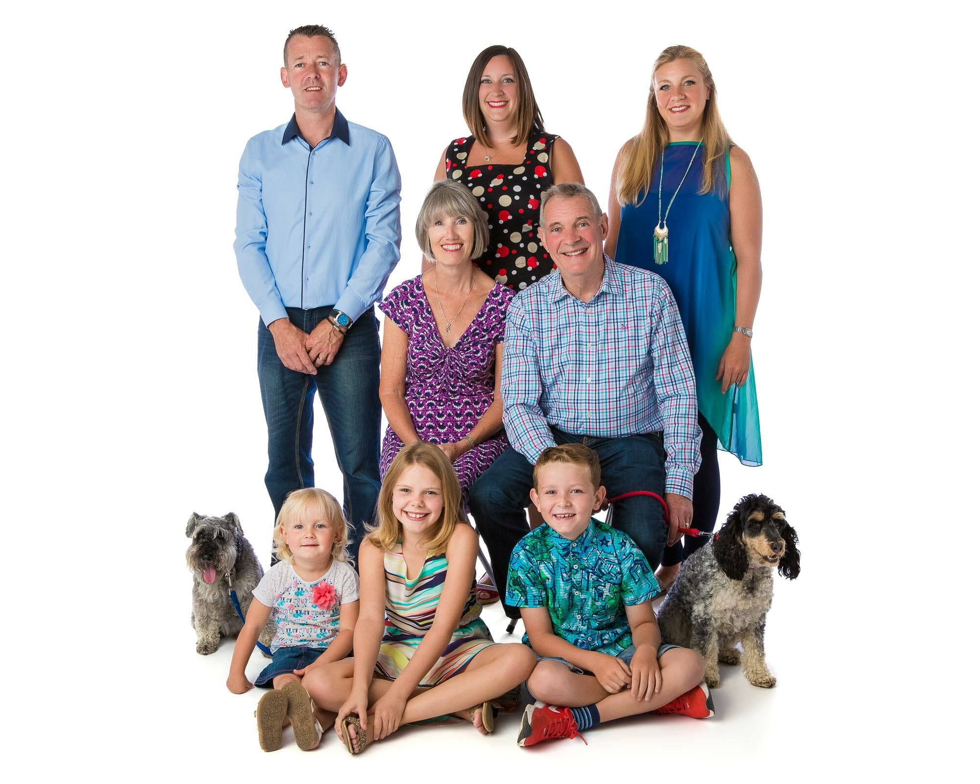 Group Family Portraits - Photography by Mark Hewitson Photography of Thame, Oxfordshire