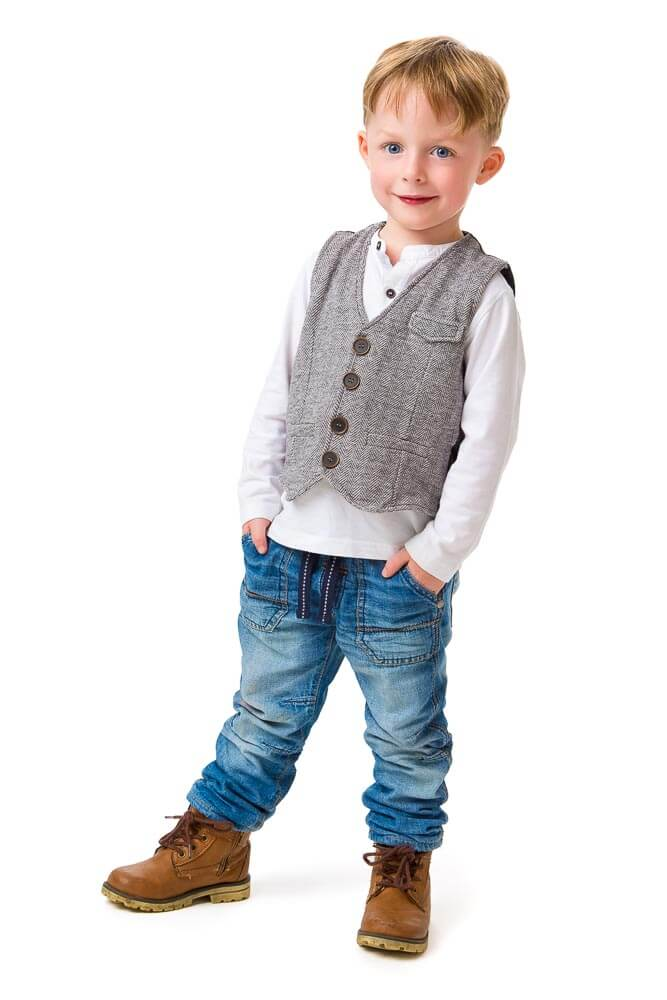 Small Boy Portrait in Thame, Oxfordshire