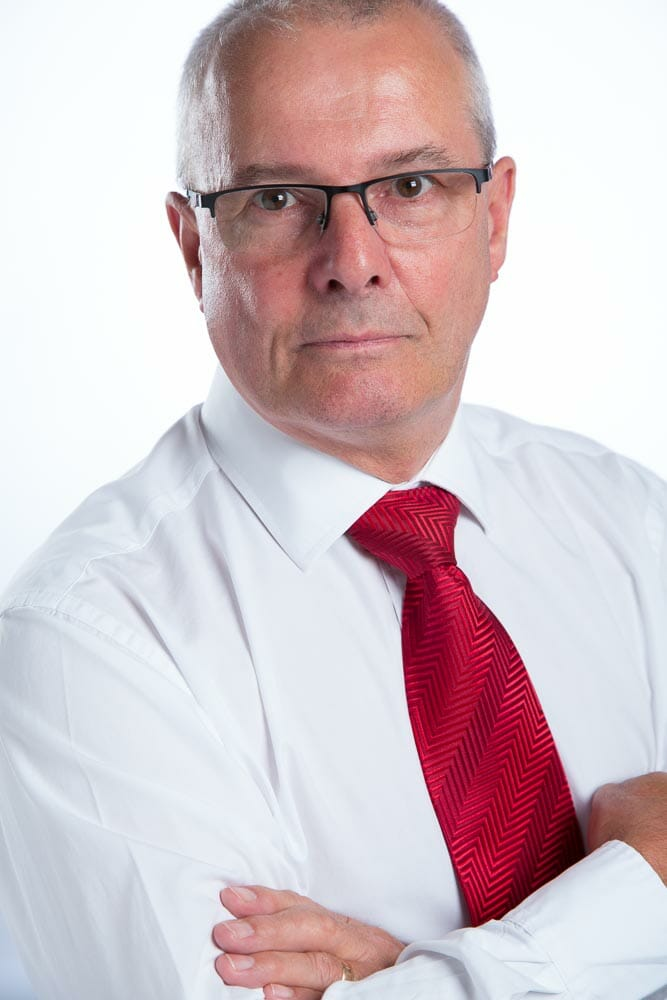 A corporate business headshot by Mark Hewitson Photography of Thame